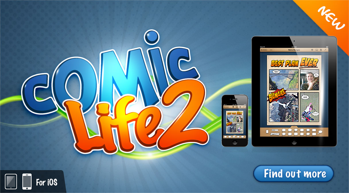 Comic Life 2 for iOS Illustration